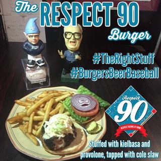 The Respect 90 Burger