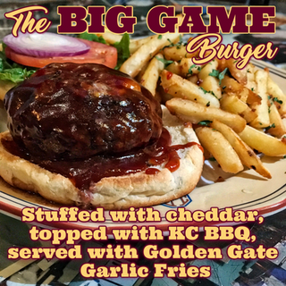 The BIG GAME Burger