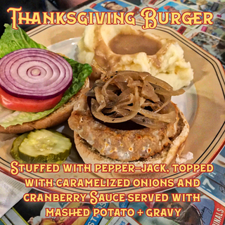 Thanksgiving Burger 🦃