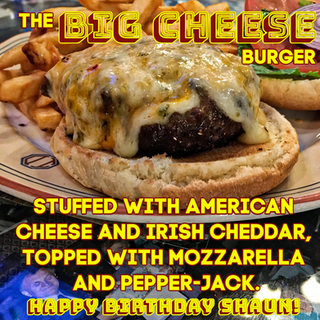 The BIG CHEESE has a BIG BIRTHDAY!