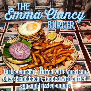 The Emma Clancy Burger