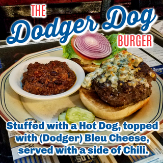 The Dodger Dog Burger
