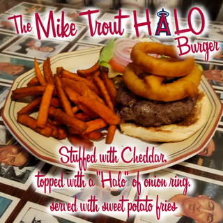 The Mike Trout Halo Burger