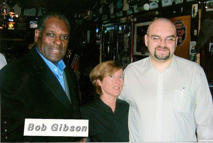 Bob Gibson at Foley's