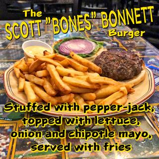 """The Scott """"Bones"""" Bonnett Burger"""