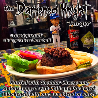 The Darkened Night Burger