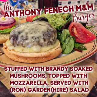 The Anthony Fenech M&M Burger