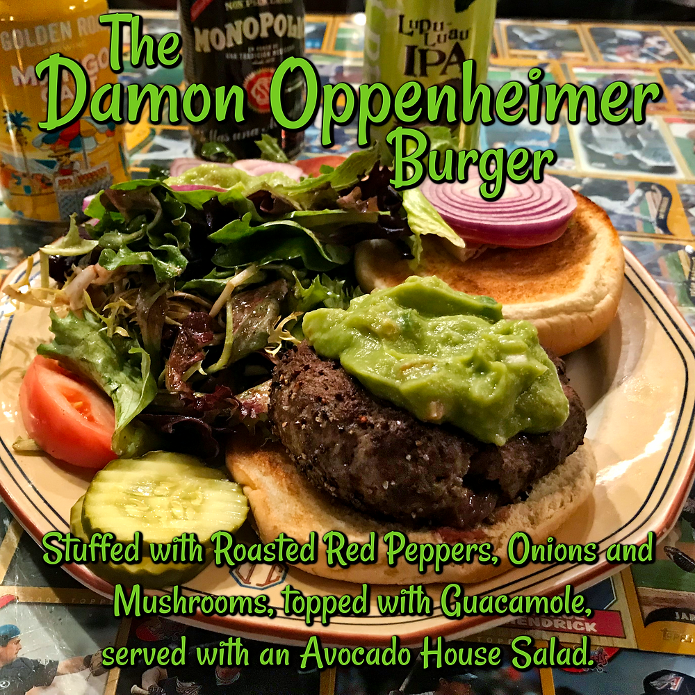 The Damon Oppenheimer Burger