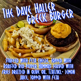 The Dave Haller Greek Burger