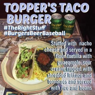 Topper's Taco Burger