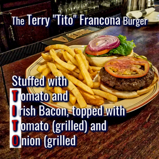 "The Terry ""Tito"" Francona Burger"