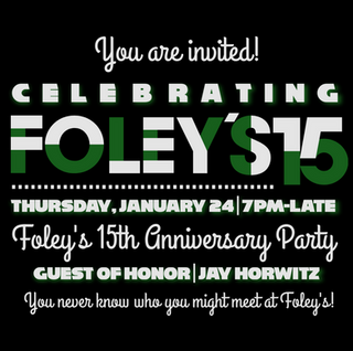 Celebrate 15 Years of FUN at Foley's