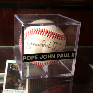 The Holy (Literally) Grail of Baseballs