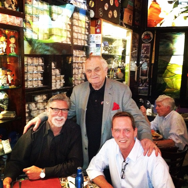 Jack Morris and David Cone at Foley's