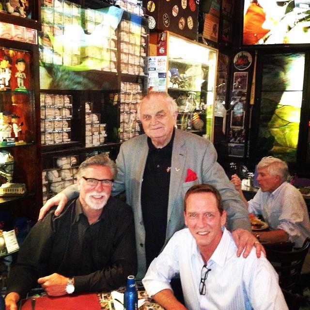 Jack Morris and David Cone at Foley's