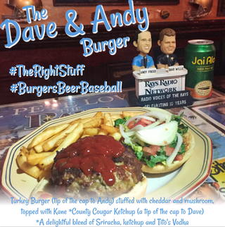 The Dave & Andy Burger