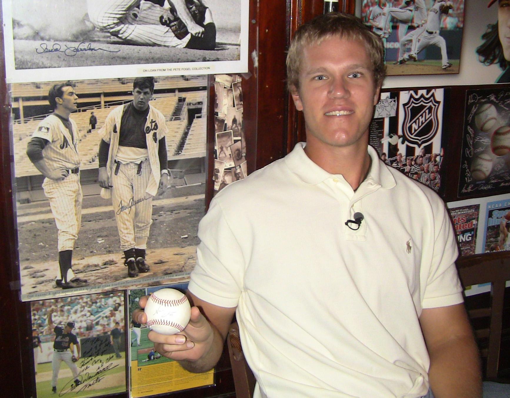 Noah Syndergaard at Foley's