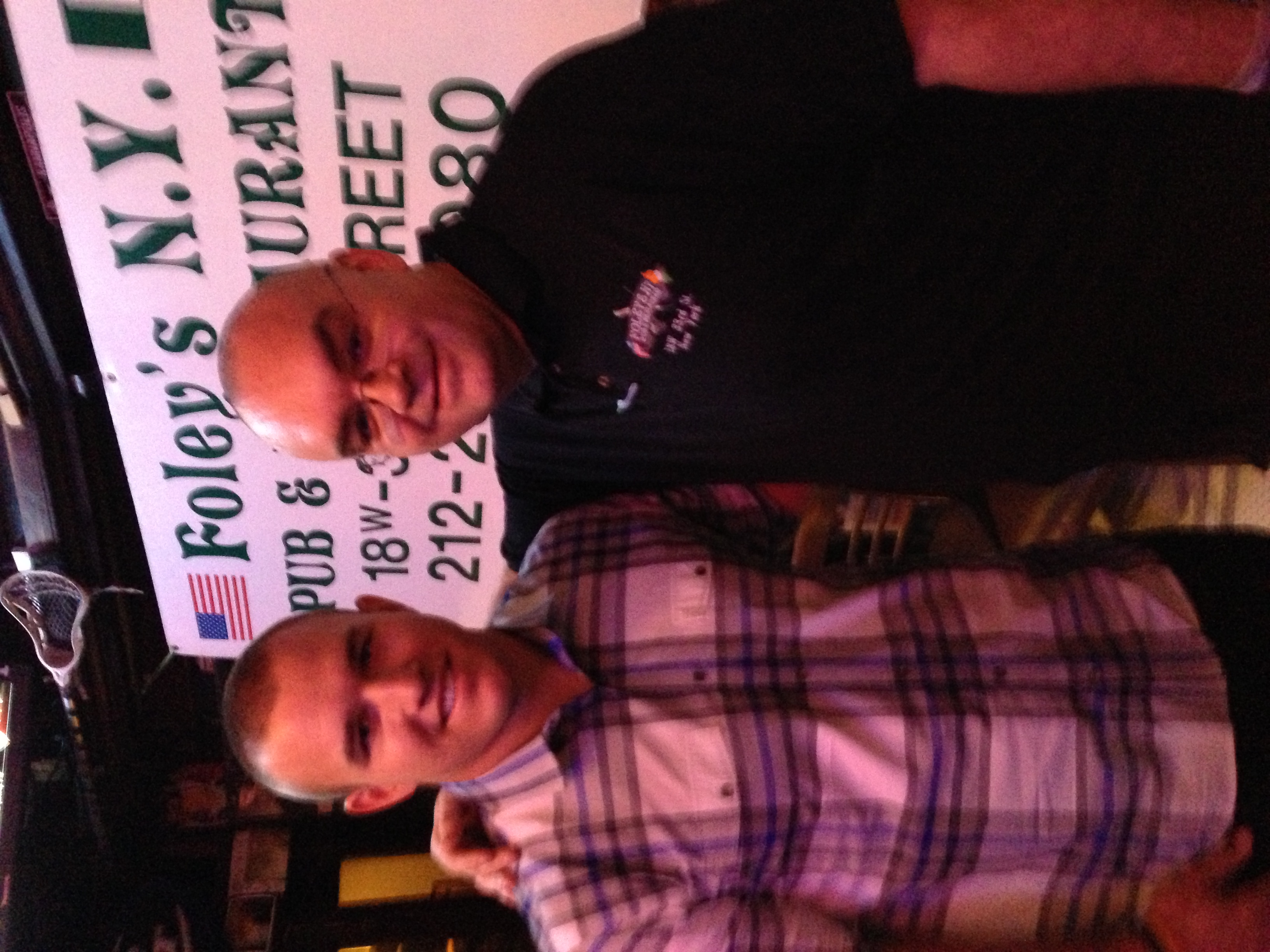 Mike Trout at Foley's