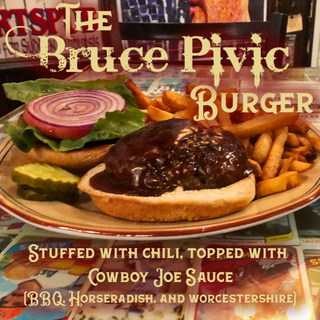 The Bruce Pivic Burger