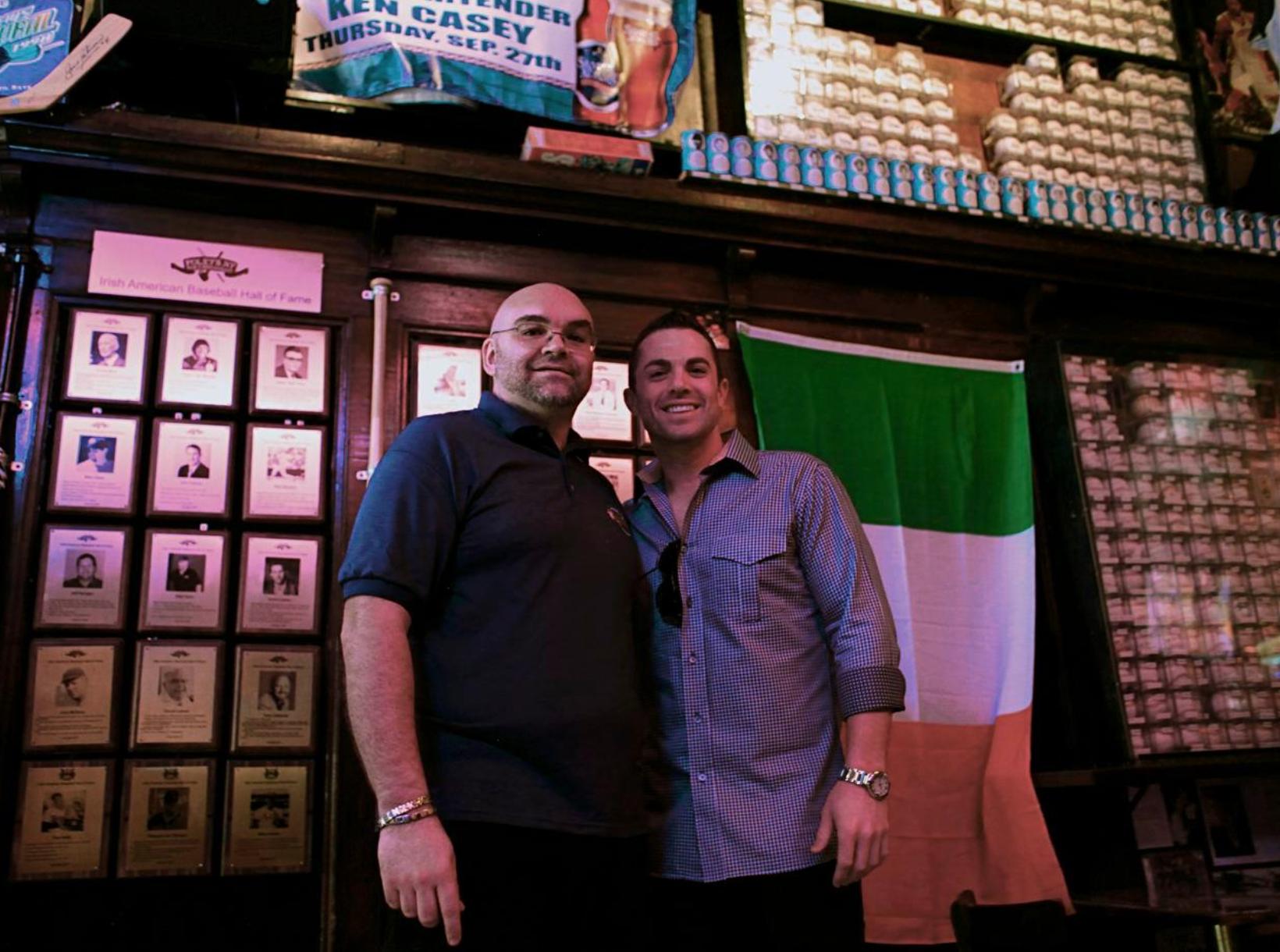 Shaun Clancy and David Wright
