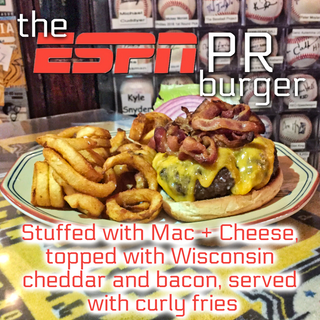 The ESPN PR Burger