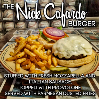 The Nick Cafardo Burger