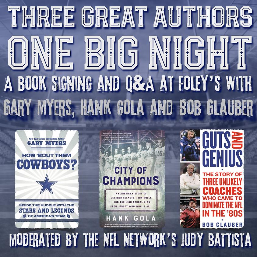 Three Great Authors | One Big Night