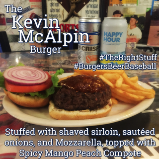 The Kevin McAlpin Burger
