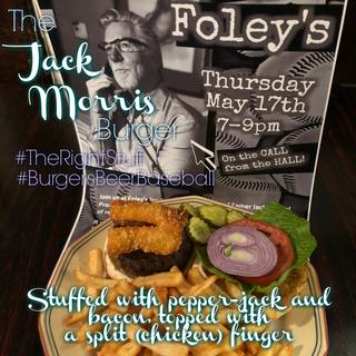 The Jack Morris Burger