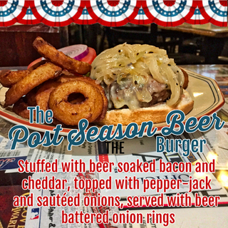 The Post Season Beer Burger