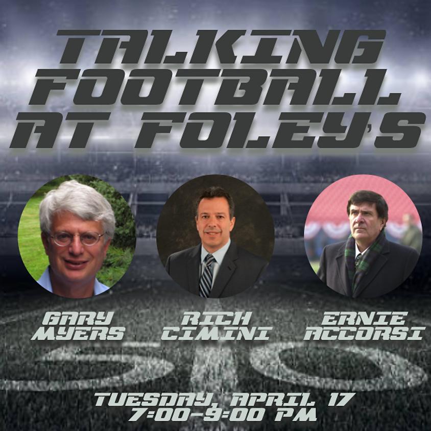 Talking Football at Foley's