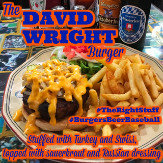 The David Wright Burger