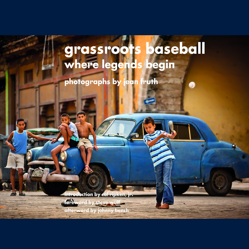 Grassroots Baseball: Where Legends Begin   Book Signing