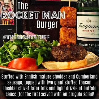 The Rocket Man Burger