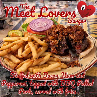 The Meet Lover Burger