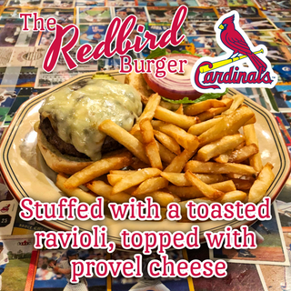 The Redbird Burger