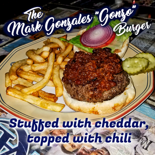 "The Mark Gonzales ""Gonzo"" Burger"