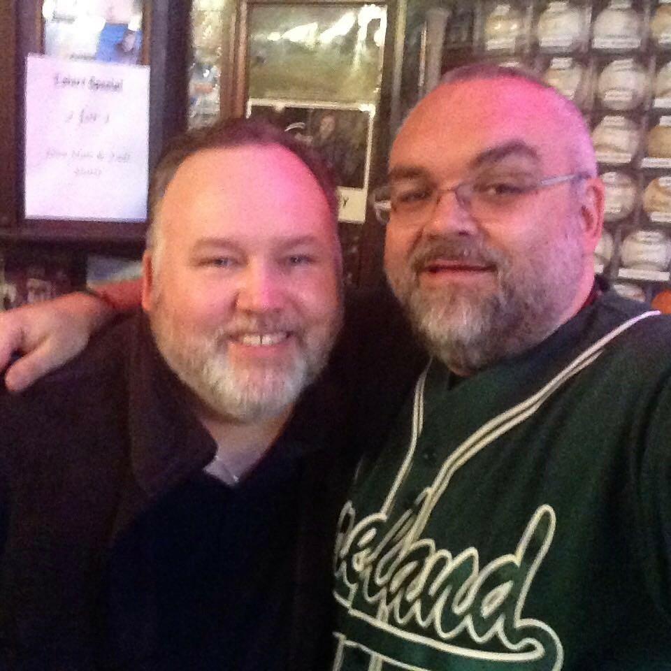 John Heffernon and Shaun Clancy