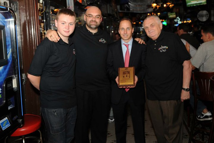 Brian Cashman at Foley's