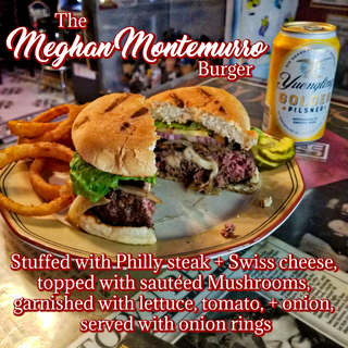 The Meghan Montemurro Burger