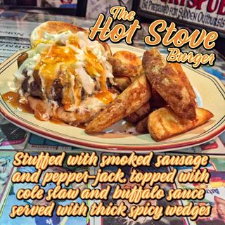 The Hot Stove Burger