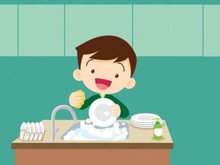 Tabela de tarefas domésticas para crianças de acordo com a idade