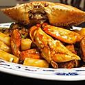 H25. (活)肉蟹炒年糕