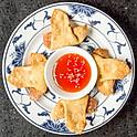 蟹角 Crab Meat Rangoon (4)