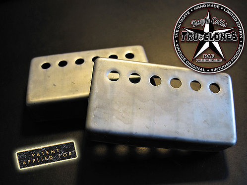 Doyle Coils Nickel Silver Aged PAF Humbucker Covers
