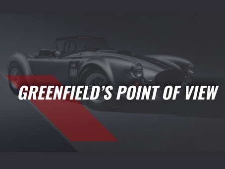 Greenfield's Point of View - April 2021