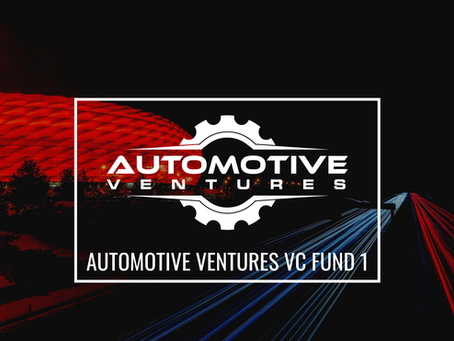 Automotive Ventures Closes Inaugural Fund to Invest in Early-Stage Auto Tech Companies