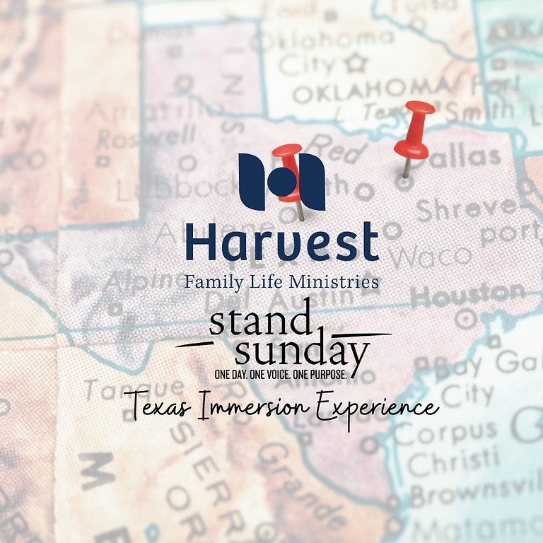 Stand Sunday 2021: The Texas Immersion Experience
