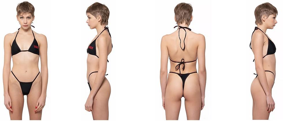 Initials Bikini