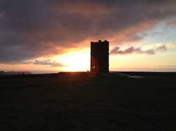 O'Brien Tower on the Cliffs of Moher